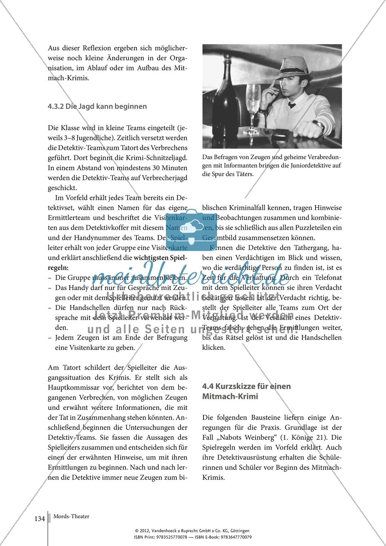 Tatort Bibel: Mitmach-Krimi - Nabots Weinberg (Rollenspiel) Preview 5