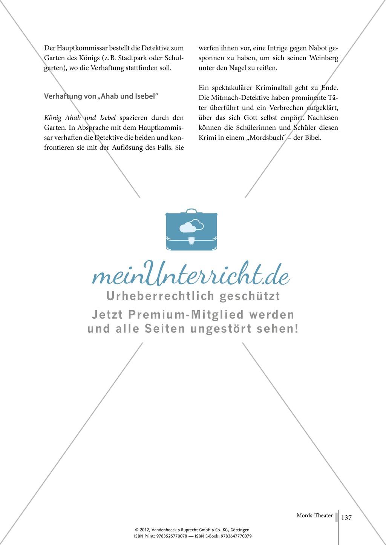 Tatort Bibel: Mitmach-Krimi - Nabots Weinberg (Rollenspiel) Preview 8
