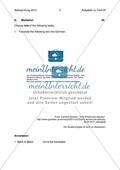 Abiturprüfung Bayern 2012 - Textaufgabe I + Aufgabenteil Preview 3