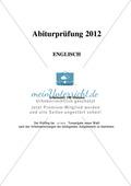 Abiturprüfung Bayern 2012 - Textaufgabe I + Aufgabenteil Preview 7