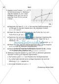 Abituraufgaben Bayern 2011 für Mathematik: Aufgaben zu Analysis, Stochastik und Geometrie Preview 3