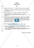 Abituraufgaben Bayern 2011: Aufgaben zum Thema Analysis - Aufgabengruppe I Preview 1