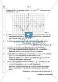 Abituraufgaben Bayern 2013 für Mathematik: Aufgabe zum Thema Analysis - Aufgabengruppe I Preview 2