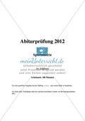 Abituraufgaben Bayern 2012:  Sportbiologie, Trainingslehre und Bewegungslehre Psychologische, soziale und gesellschaftspolitische Aspekte des Sports. Preview 1