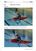 Ab aufs Wasser! - Das Erlernen des Kajakfahrens als Vorbereitung auf eine Exkursion. Eine Doppelstunde zum Thema: Technikschulung. Preview 10