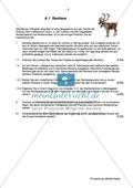 Abituraufgabe Bayern 2012: Erläutern von Fortpflanzungsstrategien und Populationsdichte am Beispiel des Rentiers un Flechten im Vergleich. Skizzieren eines Rezeptors. Mit Arbeitsmaterial. Preview 1