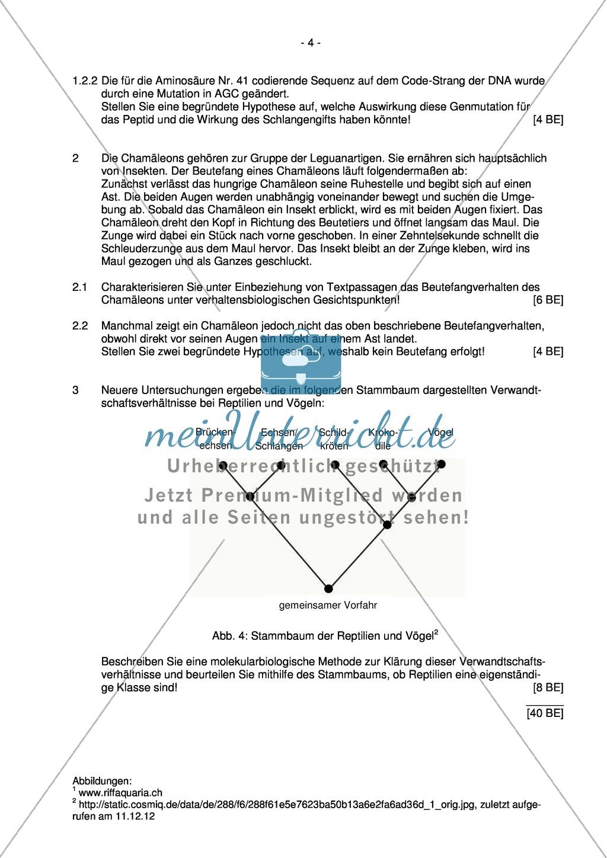Abituraufgaben Bayern 2013 zu Neurobiologie,Verhalten,Genetik ...