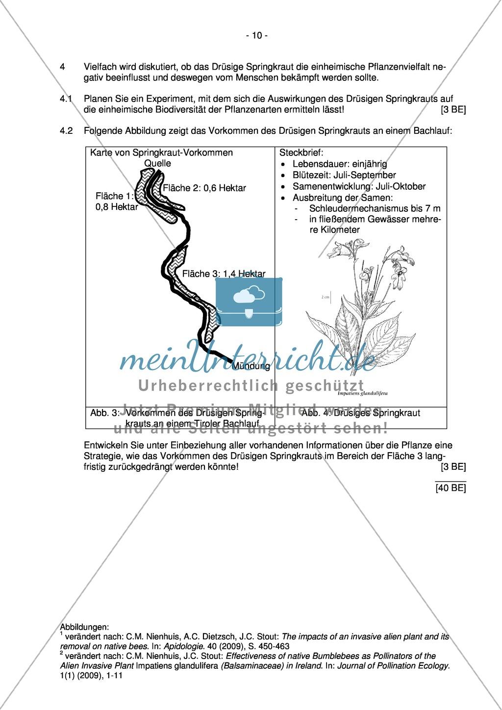 Abituraufgaben Bayern 2013 zu Neurobiologie,Verhalten,Genetik,Physiologie Preview 8
