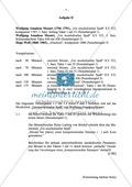 Abituraufgaben Bayern 2012: Vergleichende Analyse des musikalischen Ausdrucks in Wiener Klassik und Romantik anhand von Werken von Mozart und Wolf. Mit harmonischer Analyseaufgabe und Textauszügen. Preview 1