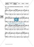 Musik, Gestaltung, Form, Stil, Formmodelle, Blues, notentextanalyse, Singen