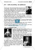 Einführung in die Zeit des Spätbarock: Bild, Informationstext und Kreativaufgabe. Mit Lösungen. Preview 2