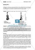 Einsatz und Wirkung der Geige in Klassik und Popmusik. Mit Arbeitsblatt und didaktischen Erläuterungen. Preview 2