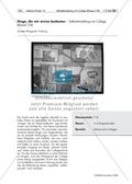 """Kunst, Verfahren und Techniken, Material, Grundlegende Erfahrungsbereiche der Jugendlichen, Künstlerinnen und Künstler, Malen, collagieren, Fundstücke und Sammlungsobjekte, Ich, Körper und Gefühle, Künstler zu """"Ich, Körper, Gefühle"""", Paul Klee"""