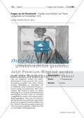 """Fragen an ein Kunstwerk – Erstellen eines Portfolios zum Thema """"Adaptionen von Kunstwerken"""" (S II) Preview 1"""