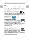 Politik, Partizipation in der Verfassungswirklichkeit, Bundesrepublik Deutschland heute, Parteien, Wahlen, nichtwähler, wahlkampf, wahlbeteiligung, koalition, bundesregierung
