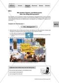 Politik, Partizipation in der Verfassungswirklichkeit, Konflikte und Konsens, Bundesrepublik Deutschland heute, Gesellschaftliche Konflikte, protest
