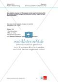Vollständige Abituraufgabe, Baden-Württemberg 2014: Fragen zum Drama