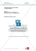 Abitur Baden-Württemberg 2013: Interpretation und Vergleich zweier Gedichte Preview 1