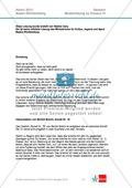 Abitur Baden-Württemberg 2013: Interpretation und Vergleich zweier Gedichte Preview 3