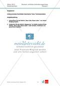 Abituraufgaben Niedersachsen 2012: Klausur I (erhöhtes Anforderungsniveau) - Gedichtanalyse zu