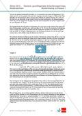 Abituraufgaben Niedersachsen 2012: Klausur I komplett (grundlegendes Anforderungsniveau) - Beschreibung und Interpretation von Joseph von Eichendorffs Novelle