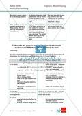 Abituraufgaben Baden-Württemberg 2009: Übersetzung, Aufgabenteil und Lösungen. Preview 9