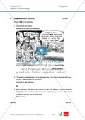 Abituraufgaben Baden-Württemberg 2013: Composition: letter / comment + Lösungen. Preview 1