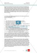 Abituraufgaben Baden-Württemberg 2013: Composition: letter / comment + Lösungen. Preview 3
