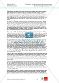 Abituraufgaben Niedersachsen 2010: Klausur II mit erhöhtem Anforderungsniveau - Aufgaben zur Textanalyse eines Auszugs aus