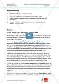 Abituraufgaben Niedersachsen 2010: Klausur 1 mit erhöhtem Anforderungsniveau - Aufgaben zur Textanalyse eines Textes über Irland + Lösung. Preview 1