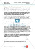 Abituraufgaben Niedersachsen 2010: Klausur 1 mit erhöhtem Anforderungsniveau - Aufgaben zur Textanalyse eines Textes über Irland + Lösung. Preview 2