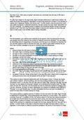 Abituraufgaben Niedersachsen 2010: Klausur 1 mit erhöhtem Anforderungsniveau - Aufgaben zur Textanalyse eines Textes über Irland + Lösung. Preview 6