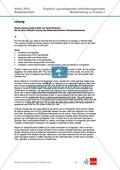 Abituraufgaben Niedersachsen 2010: Klausur I mit grundlegendem Anforderungsniveau zum Text