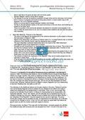 Abituraufgaben Niedersachsen 2010: Musterlösung zu Klausur I mit grundlegendem Anforderungsniveau zu