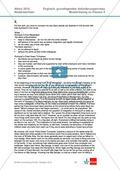 Abituraufgaben Niedersachsen 2010: Klausur II (komplett) mit grundlegendem Anforderungsniveau zu