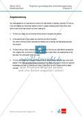 Vollständige Abituraufgabe Niedersachsen, grundlegendes Anforderungsniveau, 2012: Textanalyse eines Auszugs aus