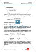 Abituraufgaben Baden-Württemberg 2012-I:Erschließen von Eigenschaften der Benzoesäure.Mit Arbeitsmaterial und Lösungen. Preview 4