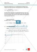 Abituraufgaben Baden-Württemberg 2012-IV:Erschließen von elektrochemischen Vorgängen am Beispielk der Metalle Silber und Zink.Mit Arbeitsmaterial und Lösungen. Preview 4