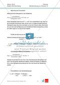 Abituraufgaben Baden-Württemberg 2012-IV:Erschließen von elektrochemischen Vorgängen am Beispielk der Metalle Silber und Zink.Mit Arbeitsmaterial und Lösungen. Preview 5