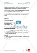 Abituraufgaben Baden-Württemberg 2012-IV:Erschließen von elektrochemischen Vorgängen am Beispielk der Metalle Silber und Zink.Mit Arbeitsmaterial und Lösungen. Preview 6