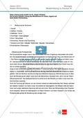 Abituraufgaben Baden-Württemberg 2013-III: Erschließen neurobiologischer Vorgänge an einer Synapse am Beispiel Lernen und Alzheimer.Mit Arbeitsmaterial und Lösungen. Preview 3
