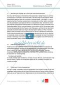 Abituraufgaben Baden-Württemberg 2013-III: Erschließen neurobiologischer Vorgänge an einer Synapse am Beispiel Lernen und Alzheimer.Mit Arbeitsmaterial und Lösungen. Preview 4