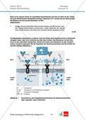 Abituraufgaben Baden-Württemberg 2013-IV:Erschließen von regulatorischen Vorgängen im menschlichen Körper am Beispiel der Eisenaufnahme und -speicherung mit Bezug zu genetischen Voraussetzungen.Mit Arbeitsmaterial und Lösungen. Preview 1