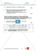 Abituraufgaben Baden-Württemberg 2013-IV:Erschließen von regulatorischen Vorgängen im menschlichen Körper am Beispiel der Eisenaufnahme und -speicherung mit Bezug zu genetischen Voraussetzungen.Mit Arbeitsmaterial und Lösungen. Preview 2
