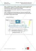 Abituraufgaben Niedersachsen eA-2011-I:Erschließen von stoffwechselphysiologischen,ökologischen und evolutionsbiologischen Aspekten am Beispiel der Seerose.Mit Arbeitsmaterial und Lösungen. Preview 13