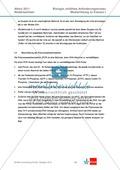 Abituraufgaben Niedersachsen eA-2011-I:Erschließen von stoffwechselphysiologischen,ökologischen und evolutionsbiologischen Aspekten am Beispiel der Seerose.Mit Arbeitsmaterial und Lösungen. Preview 15