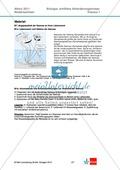 Abituraufgaben Niedersachsen eA-2011-I:Erschließen von stoffwechselphysiologischen,ökologischen und evolutionsbiologischen Aspekten am Beispiel der Seerose.Mit Arbeitsmaterial und Lösungen. Preview 2