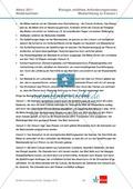 Abituraufgaben Niedersachsen eA-2011-I:Erschließen von stoffwechselphysiologischen,ökologischen und evolutionsbiologischen Aspekten am Beispiel der Seerose.Mit Arbeitsmaterial und Lösungen. Preview 9
