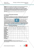 Abituraufgaben Niedersachsen eA-2011-I:Erschließen von stoffwechselphysiologischen Aspekten.Mit Arbeitsmaterial und Lösungen. Preview 3