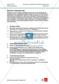 Abituraufgaben Niedersachsen eA-2011-I:Erschließen von evolutionsbiologischen Aspekten der Seerose.Mit Arbeitsmaterial und Lösungen. Preview 1